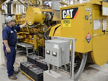 Cat® power stands up to Hurricane Sandy