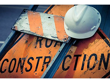 construction zone sign