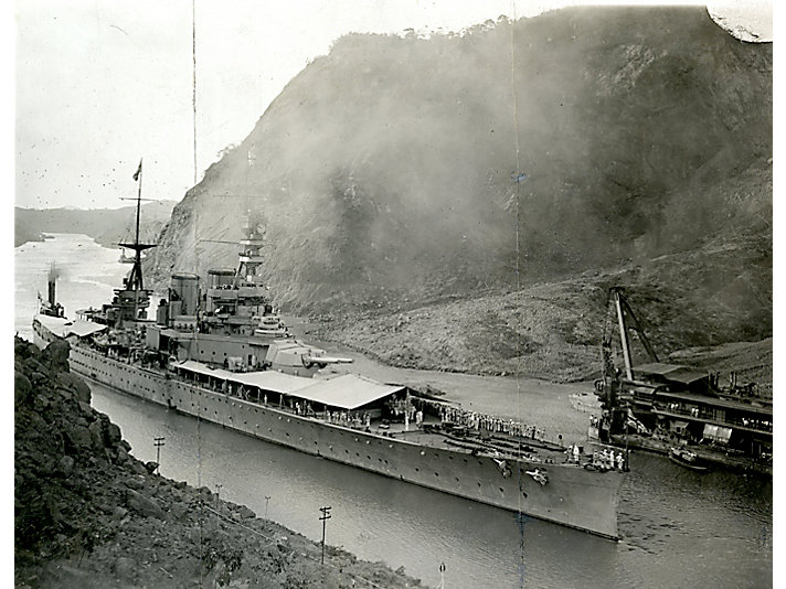 The Panama Canal officially opened in 1919.