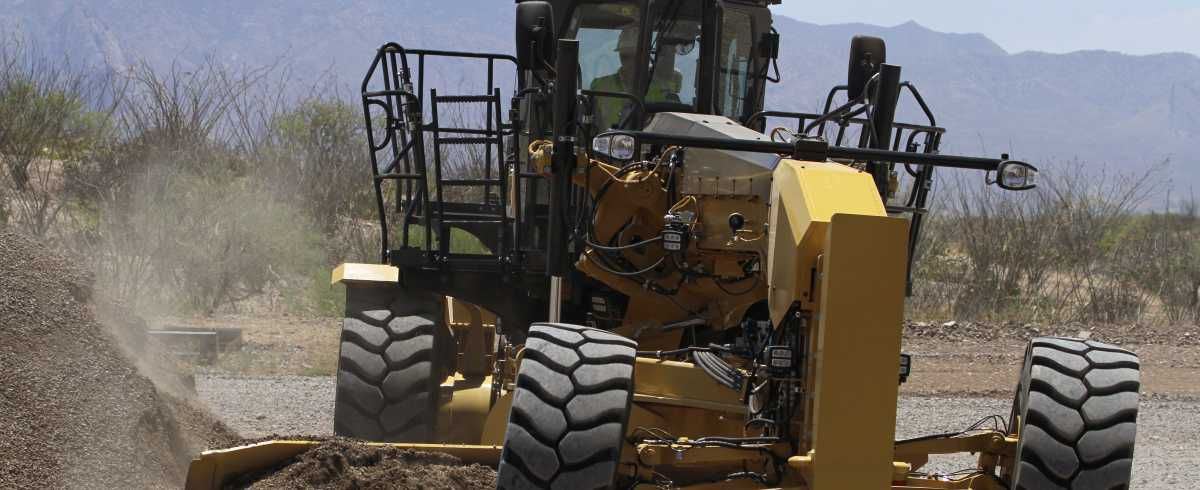 Cat Large Motor Graders are one of the most productive — and productivity-enhancing — machines on any mine site.