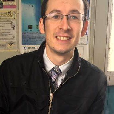 Dylan Chapman, Coordinator for International Relations (CIR), City of Rikuzentakata