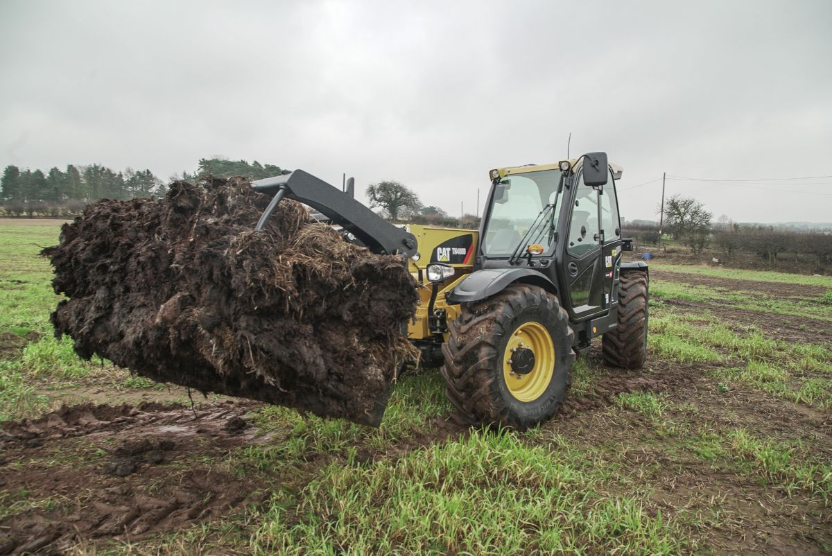 Cat® Telehandlers Keep Diverse Agricultural Contractors Running