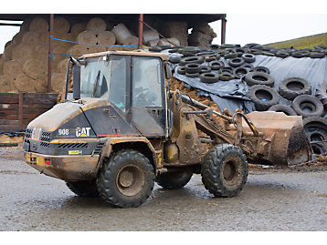 Cat® 908 Compact Wheel Loader Running Strong After 19,000 Hours