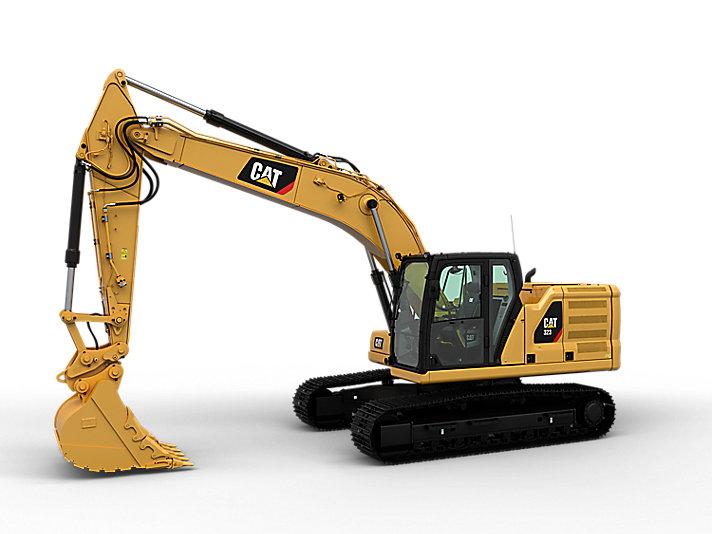 323 中型液压挖掘机