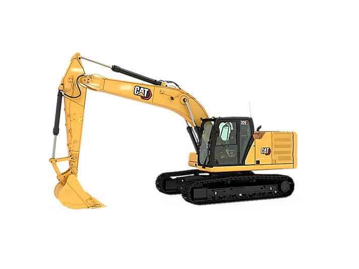 Excavadoras medianas