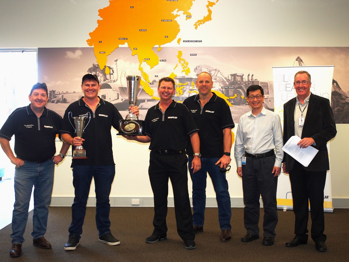 Top Cat® Dealer Apprentices Honored