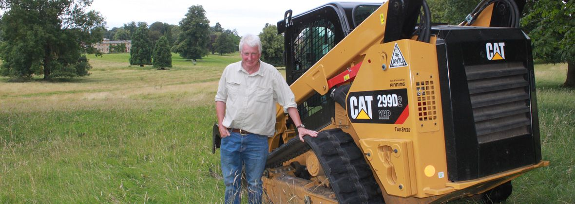 Cat® Compact Loader Delivers 21st Century Results in 17th Century Setting