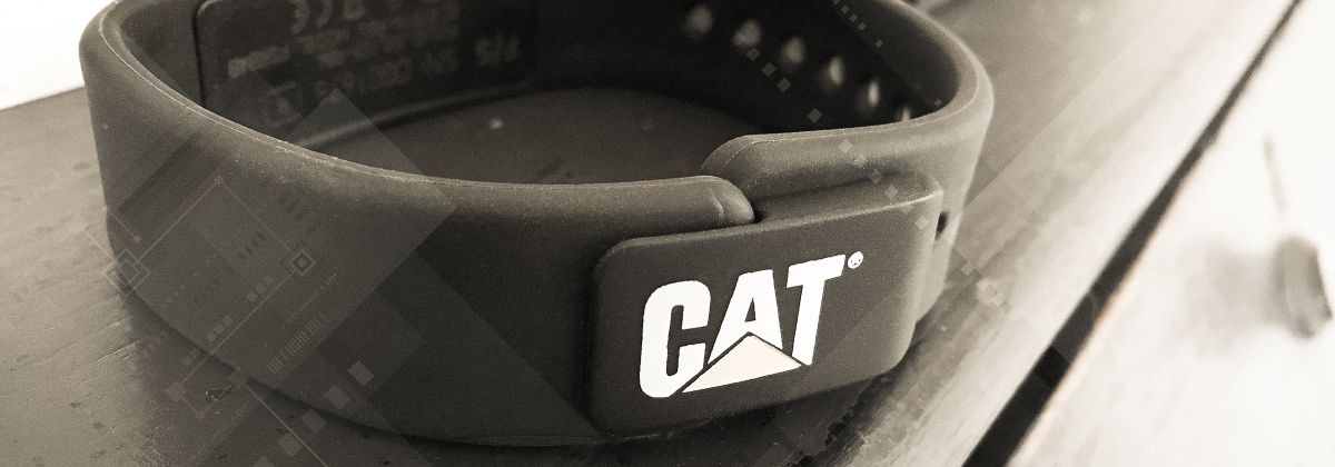 Cat Smartband - worker fatigue management tool