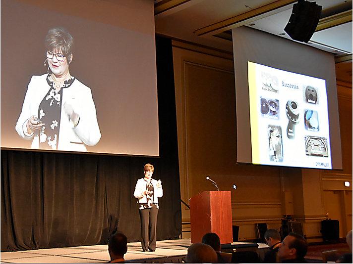 Stacey DelVecchio – Keynote Speaker at sold out AMUG