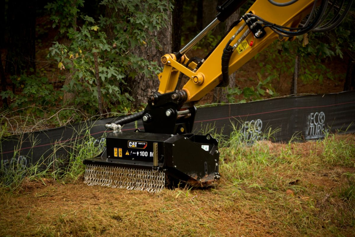 Cat Hmf210 Flail Mower Caterpillar