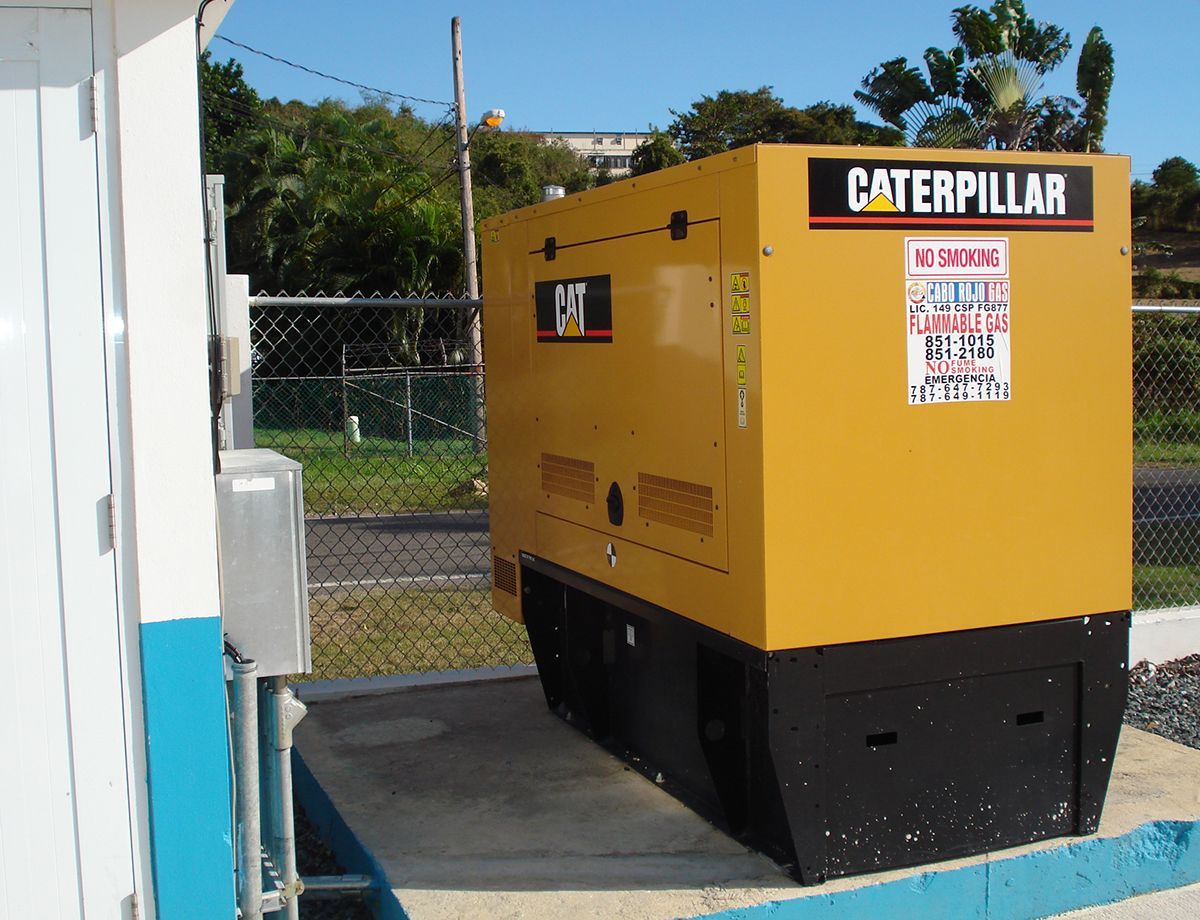 Caterpillar keeps the lights on, pumps operating, and trucks on the road, so Cabo Rojo can maintain the highest level of service to their customers.