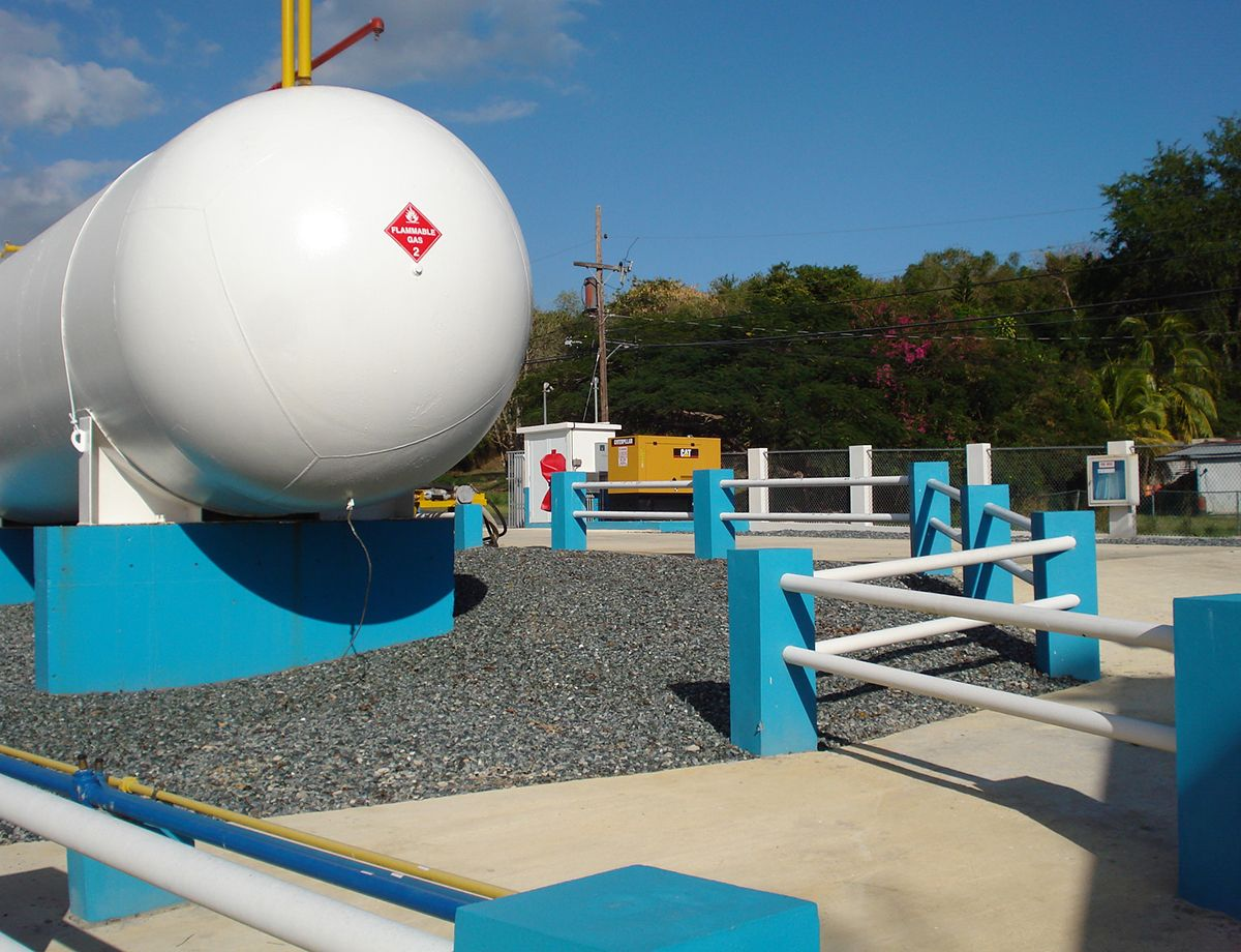"""We must always be prepared to keep the supply of fuel moving,"" said Edrick Arroyo, vice president of Cabo Rojo Gas."