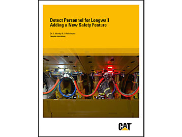 Cat Detect Personnel for Longwall Brochure - Underground Mining / Longwall Automation / Safety