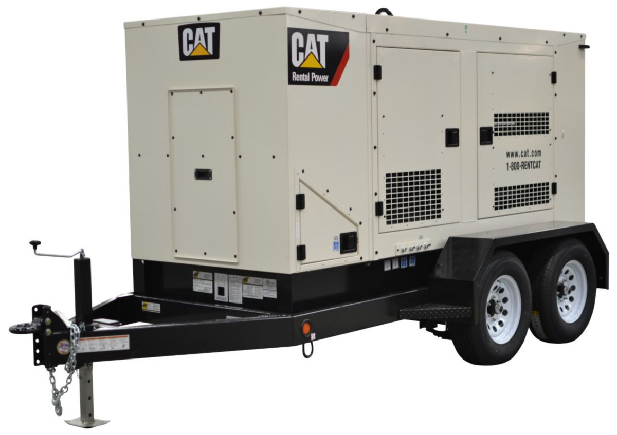 Cat XQ125 Tier 4 Final Mobile Generator Set