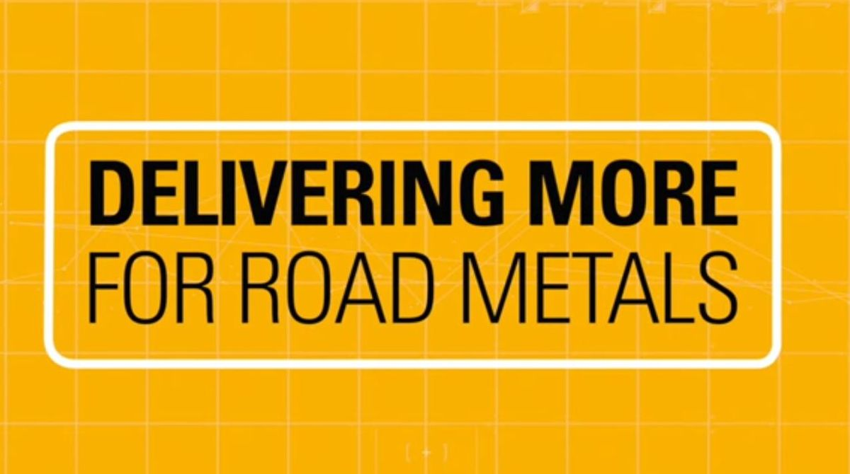 ROAD METALS ACCESS REAL TIME RESULTS WITH CAT® PAYLOAD.