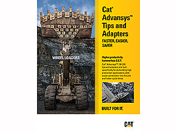 Cat® advansys™ flyer – wheel loaders