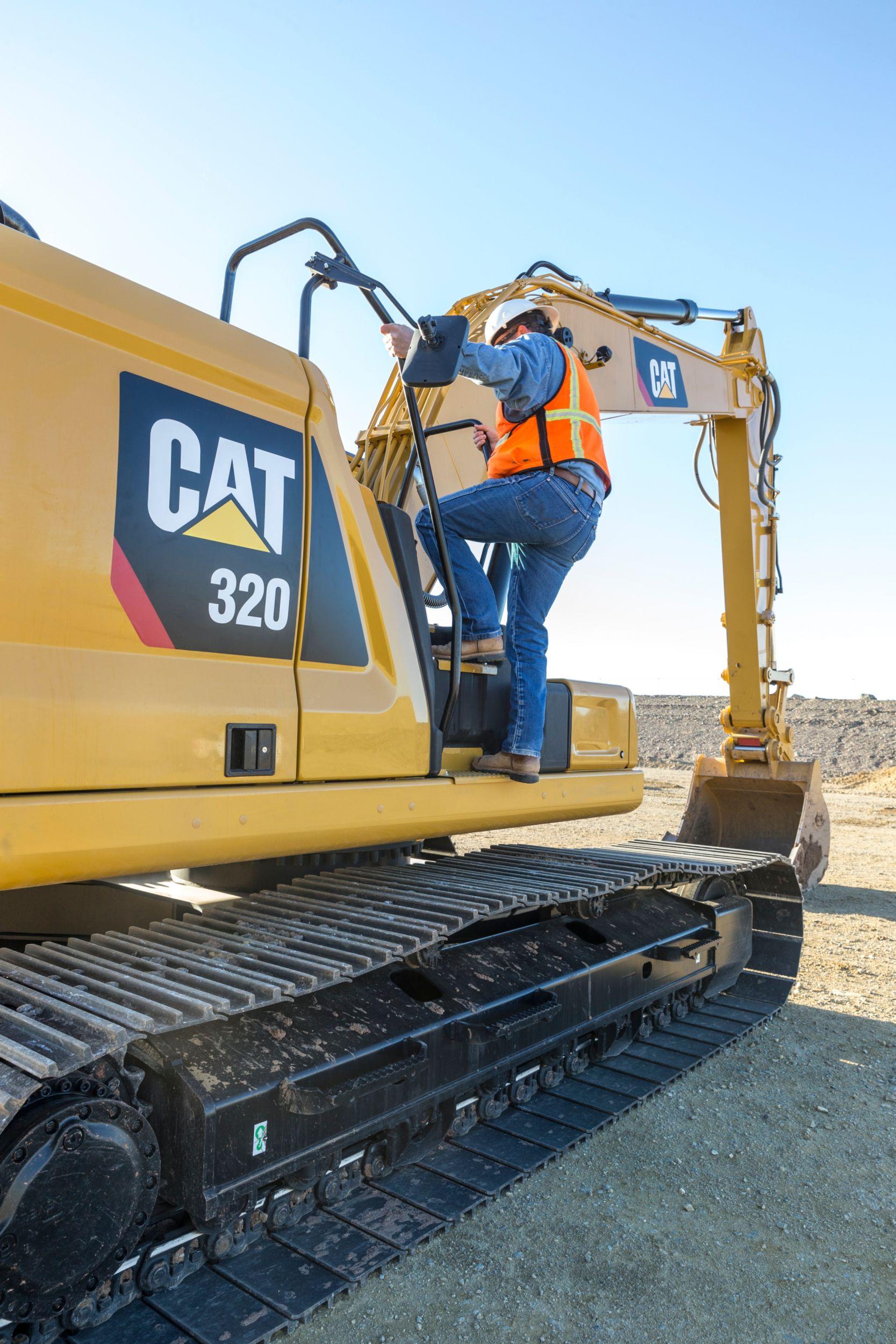 Pleasing Cat 320 Hydraulic Excavator Caterpillar Wiring Digital Resources Funapmognl