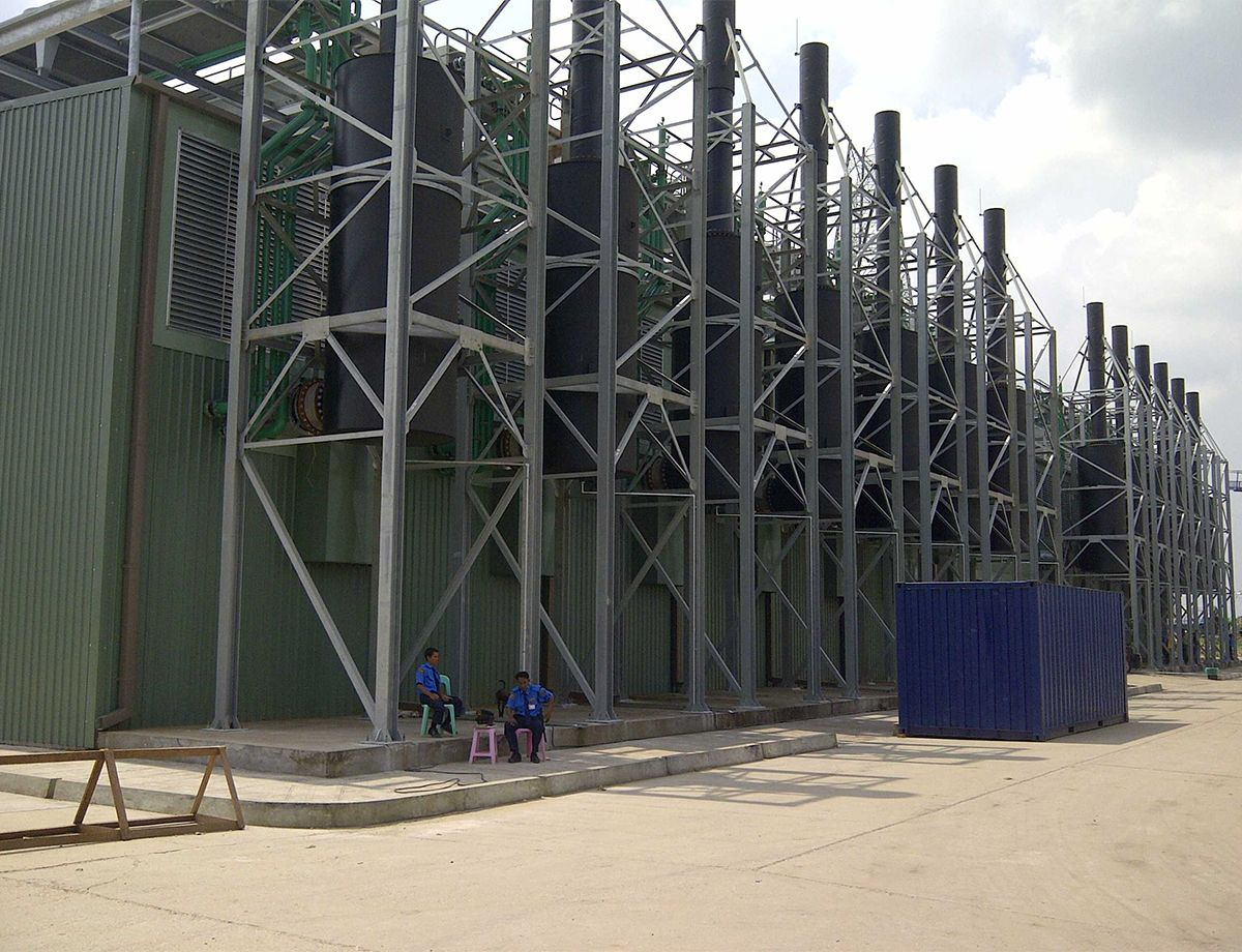 The newly upgraded Ywama Power Plant delivers an additional 50 MW of power to the city, representing four percent of country's entire power supply.