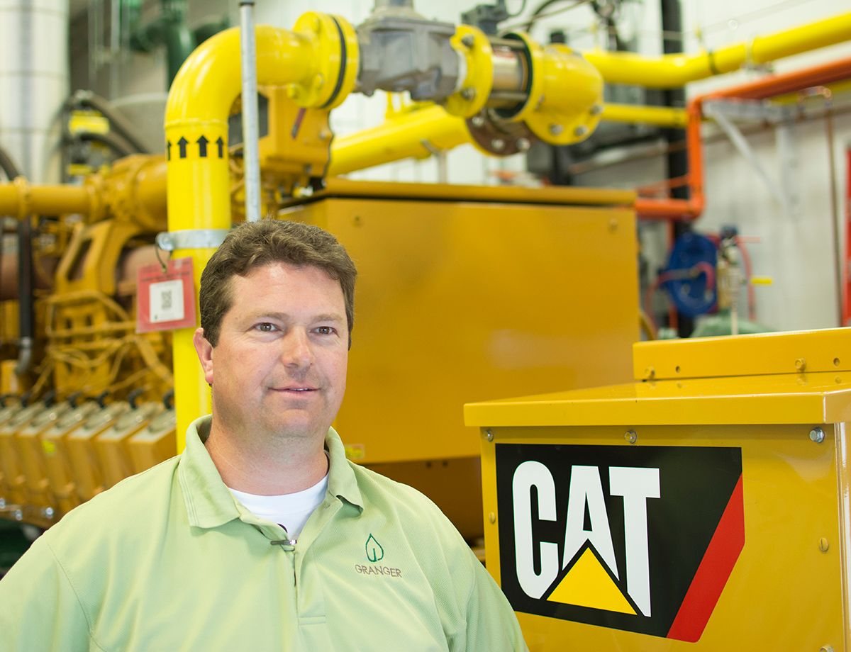 """Over the course of 30 years, we've had a very good relationship with Michigan Cat as a resource for parts and equipment, and helping us diagnose issues and solve problems in short order,"" said Dan Zimmerman,"