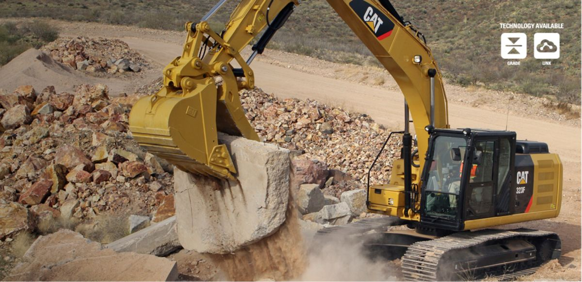 F SERIES EXCAVATORS. <br>MORE TECHNOLOGY FOR YOU.