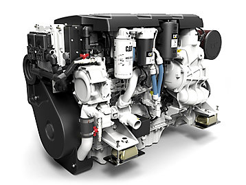 Cat C7.1 Propulsion Engine