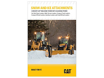 Cat Attachments for Snow & Ice