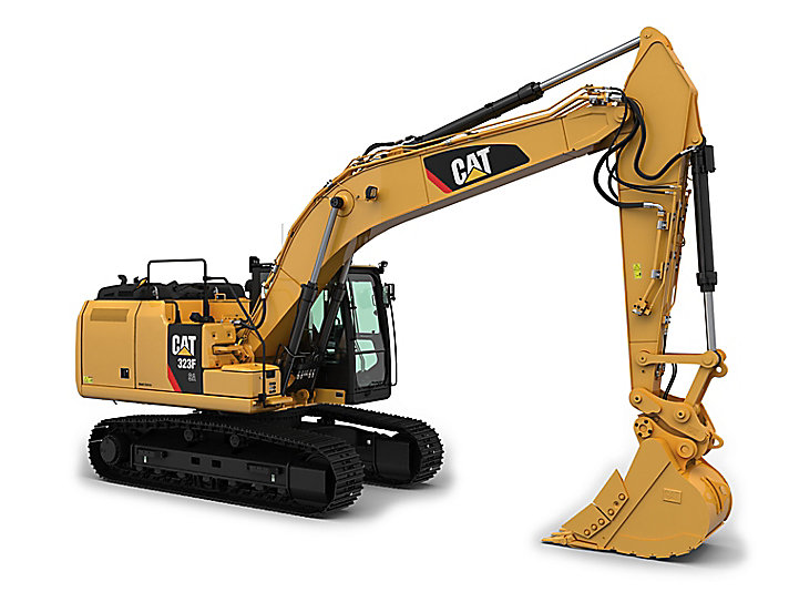 323F SA Special Alpine Medium Hydraulic Excavator