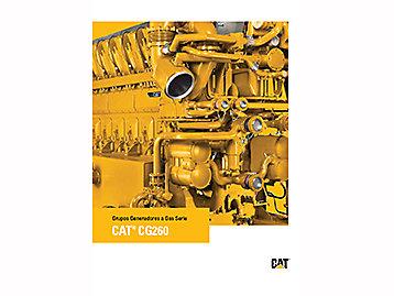 Grupos Generadores a Gas Serie cat® CG260