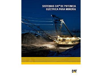 Sistemas de potencia eléctrica Cat® para minería