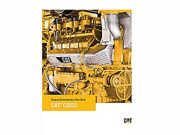 Grupos Generadores a Gas Serie cat® CG132