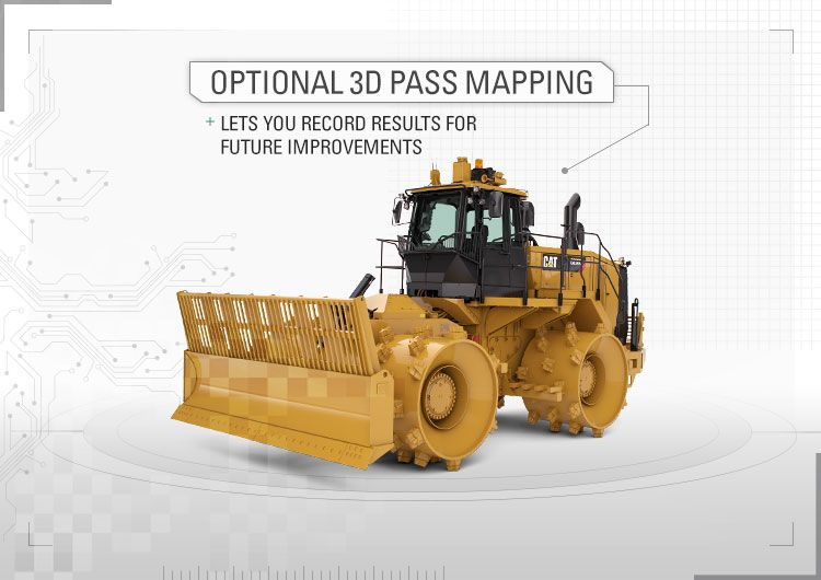 Optional 3D pass mapping lets you record results for future improvements.