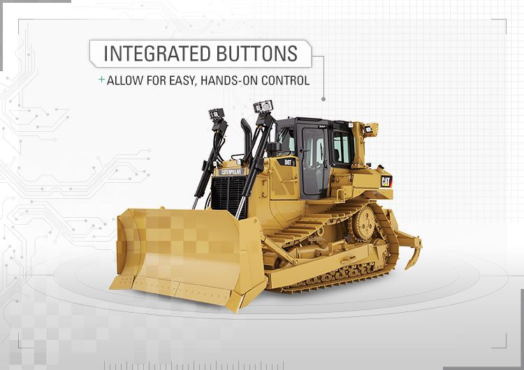 Integrated buttons allow for easy, hands-on control.