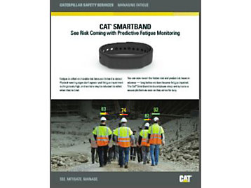 Cat Smartband Brochure - worker fatigue management tool