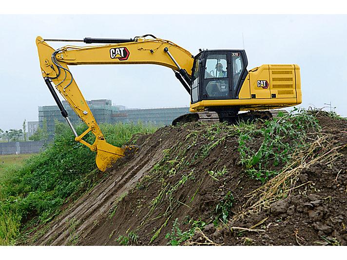 Excavadora Hidráulica 320