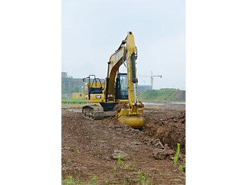 Cat GRADE con 3D para excavadoras