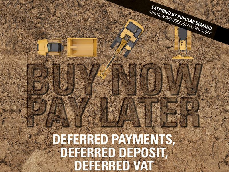 Buy Now Pay Later. Deferred payments. Deferred deposit. Deferred VAT. Extended by popular demand and now includes 2017 plated stock!