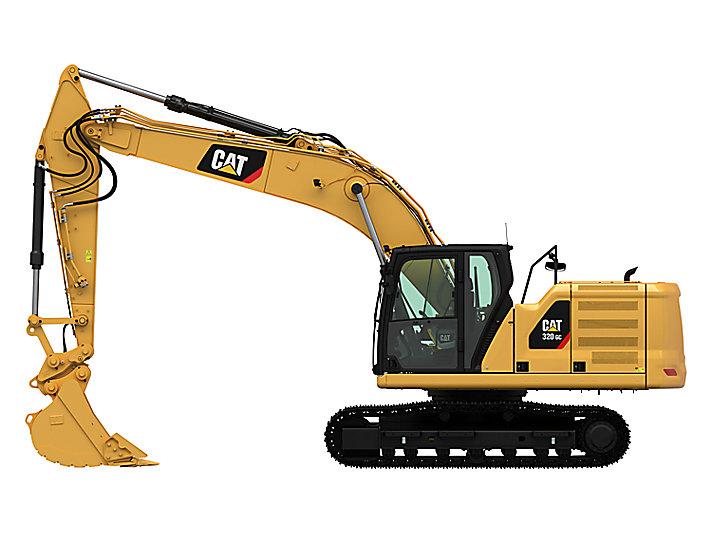 Excavadora Hidráulica Mediana 320GC