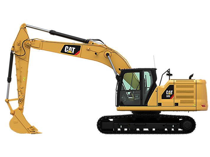 Hydraulic Excavator Sedang 320