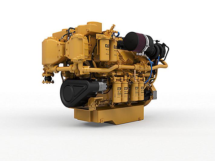 Cat C32補助/ディーゼル電気推進(US EPA Tier 3/IMO II)