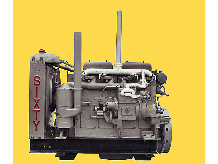 """""""Old Betsy"""" is the name of the first diesel engine ever produced by Caterpillar. Today it is part of the Smithsonian Institution's collection."""