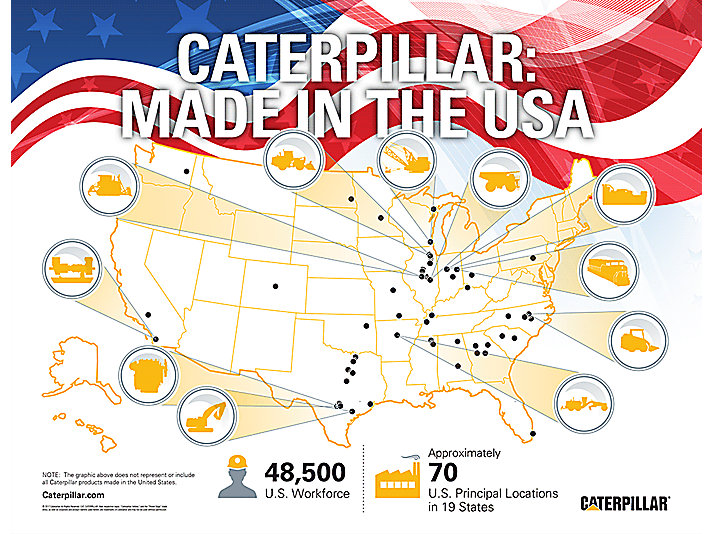 Caterpillar: Made in the USA