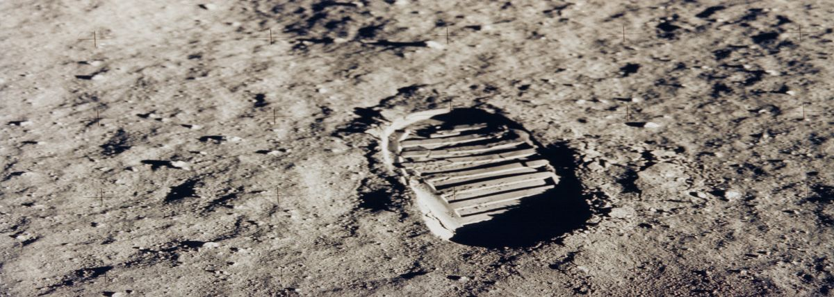 One Giant Step For Caterpillar 1969 Moon Landing