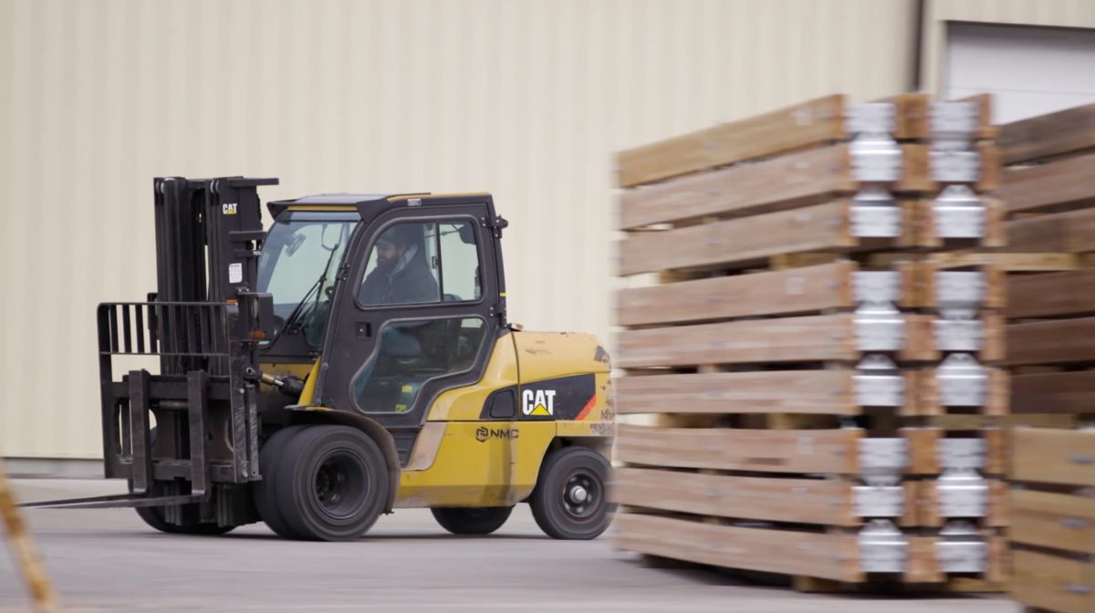 Hughes Brothers is now a 3rd generation family-owned company that honors hard work, reliability and resilience. Forklifts are critical to HB's operation as they are used daily in an indoor/outdoor application to move material weighing up to 4,000 lbs.