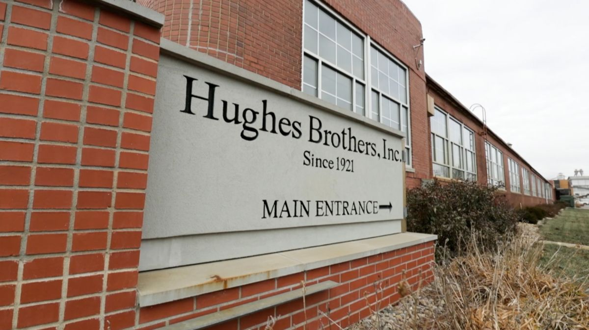 Hughes Brothers is located in Seward, Nebraska.