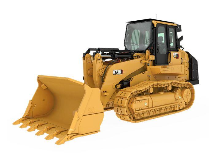 973K Track Loader - Steel Mill Configuration
