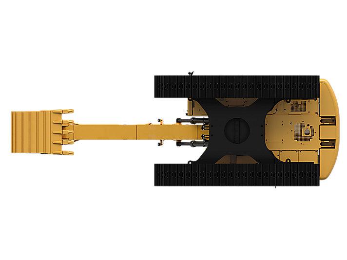 Pelle hydraulique intermédiaire 323