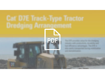 Cat® D7E Dredging Arrangement Brochure