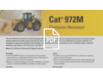 Cat 972M Corrosion Resistant Wheel Loader