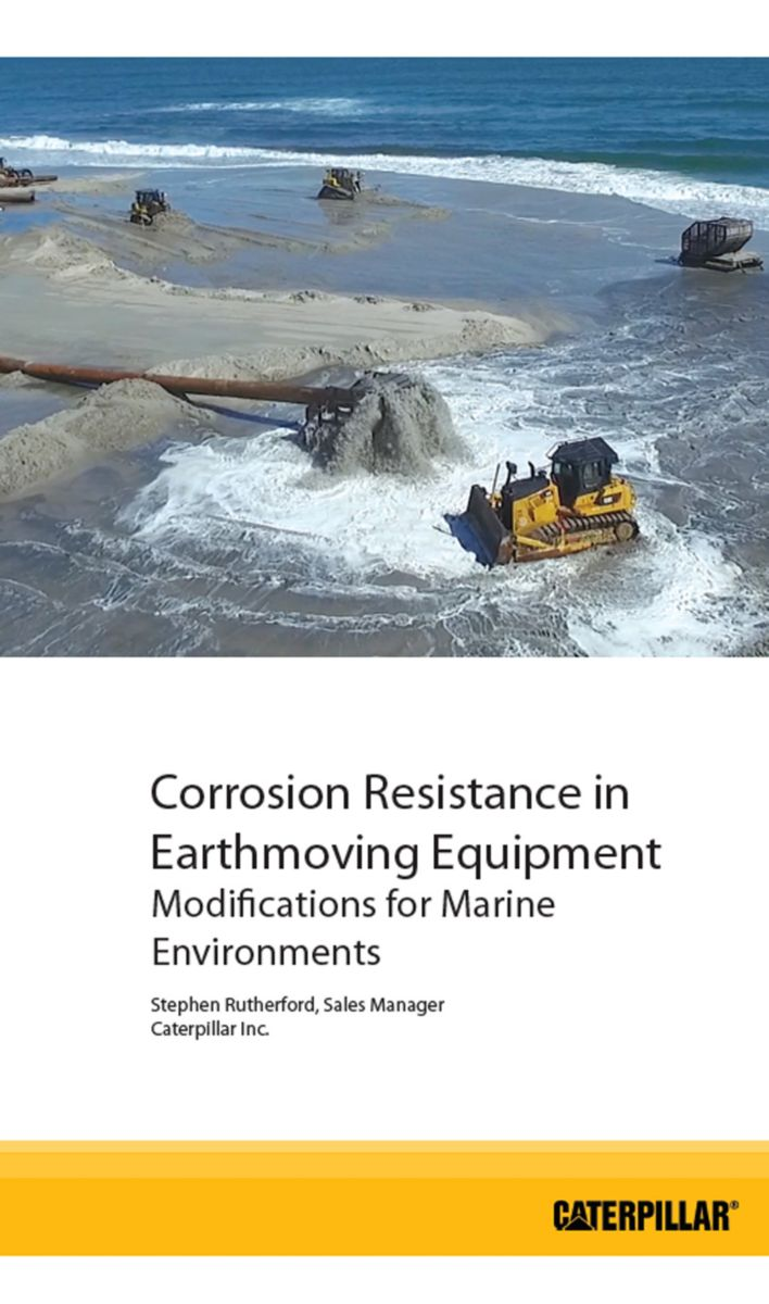 Corrosion Resistance in Earthmoving Equipment