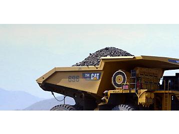 Cat 794 AC Mining Truck - Photo of Loaded Haul Truck